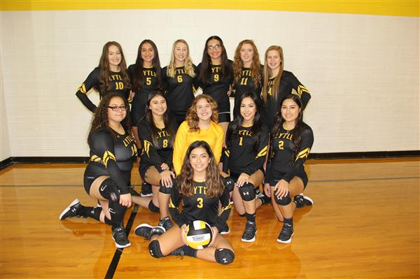 High School Varsity Volleyball Team.