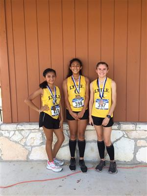 7th Grade Girls Medalists