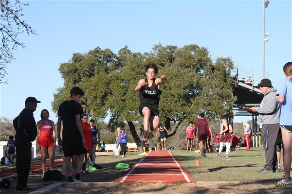 Boys Track at Bandera