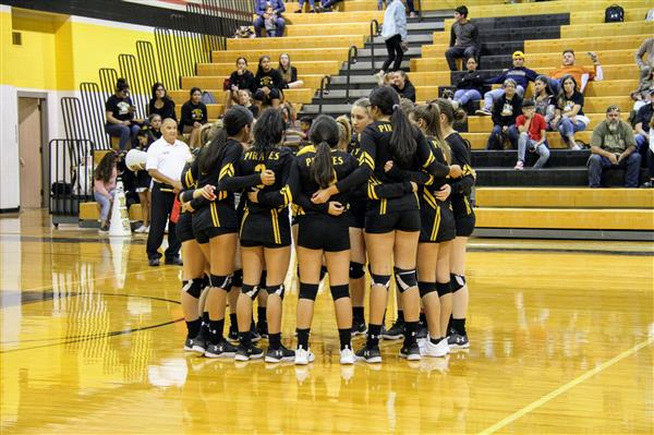10-17-2018 Varsity Volleyball vs. Cotulla Cowboys