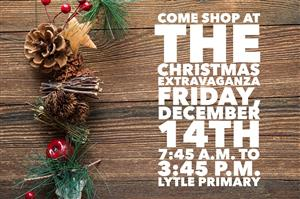 Christmas Extravaganza at Lytle Primary flyer