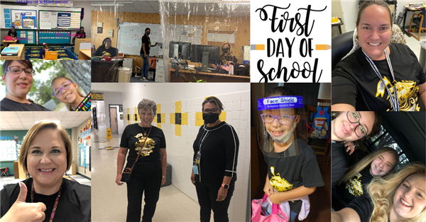 Lytle ISD First Day of School Photo Montage