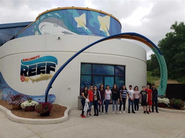 Career Readiness field trip to SeaWorld.