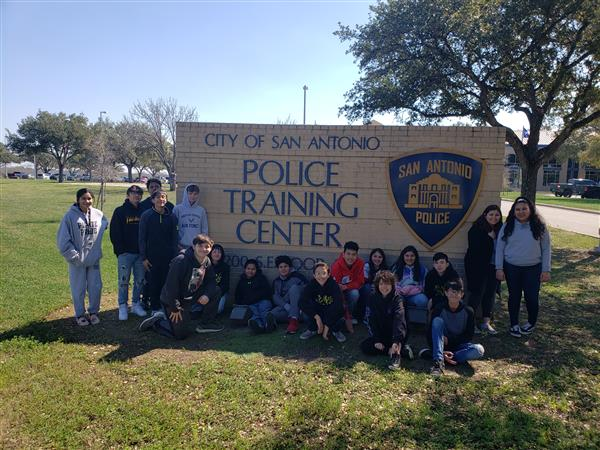 2-21-2020 8th Grade CCMR Trip - SAPD Training Academy