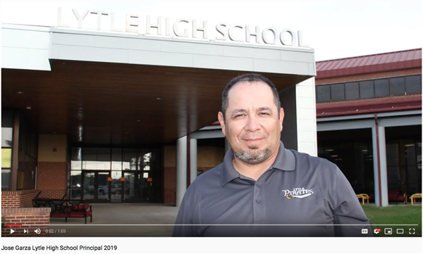 High School Principal Jose Garza