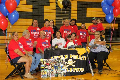 Amber Flores College Signing 12-5-17