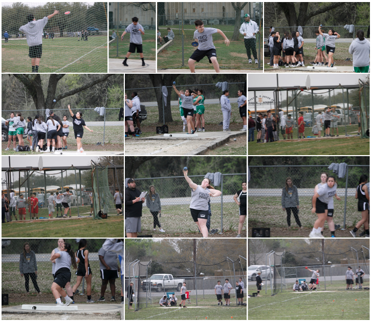 Jr. High Track Meet @ Lytle 3-1-2019 Throwing Events