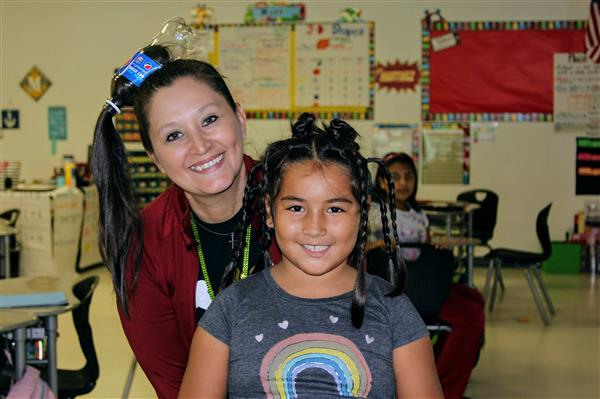 Elementary Crazy Hair Day