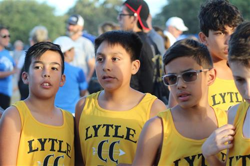 Lytle Junior High Cross Country Boys