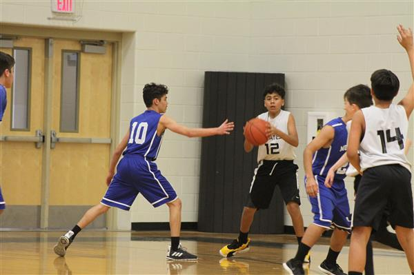 7th Grade Boys Basketball District Tournament