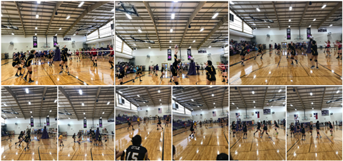 Volleyball 8-28-2018 Collage