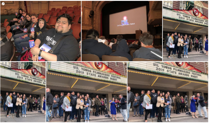 UIL Young Filmmakers State Finals at Paramount Theater in Austin, TX 3-5-2019