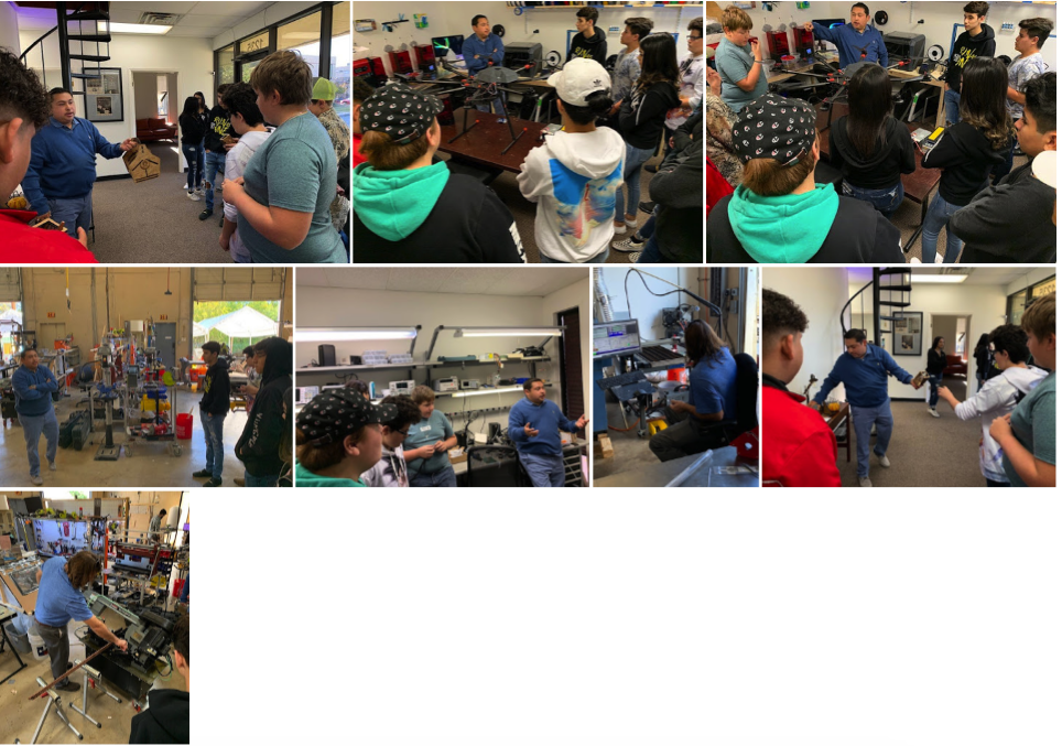PTECH Students visit Can Opener Labs 11-18-2019