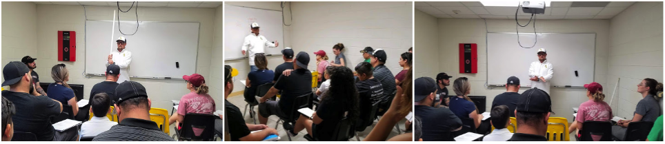Coach Bryan Bippert Spends Sunday Evening Providing Lytle Little League Coaching Clinic