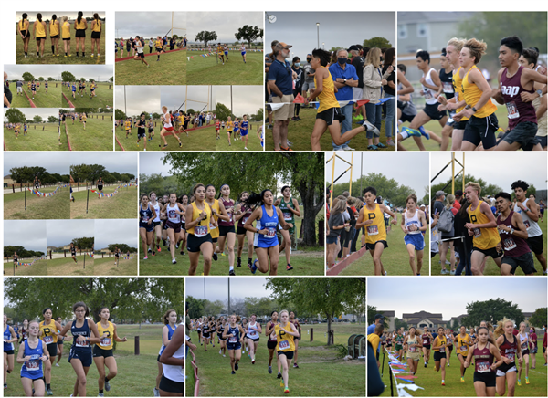 Lytle Cross Country at Feast #2 Meet 9-26-2020.