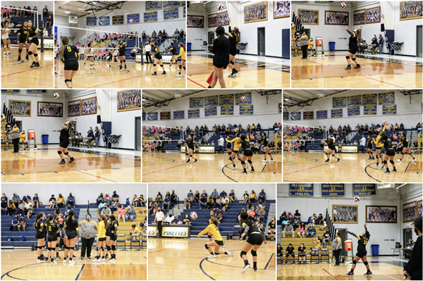 JV and Varsity Volleyball at Poth 10-6-2020